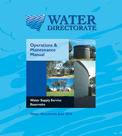 O M Manual For Water Supply Service Reservoirs 2010 The Water